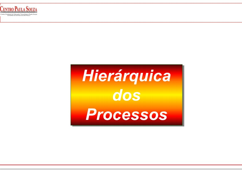Hierárquica dos Processos