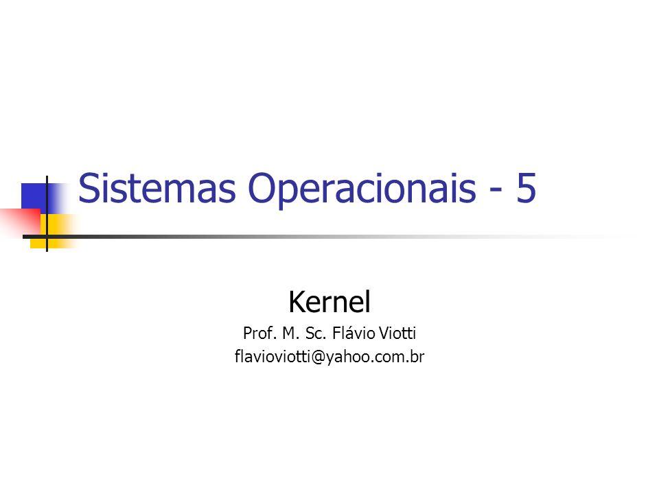 Sistemas Operacionais - 5