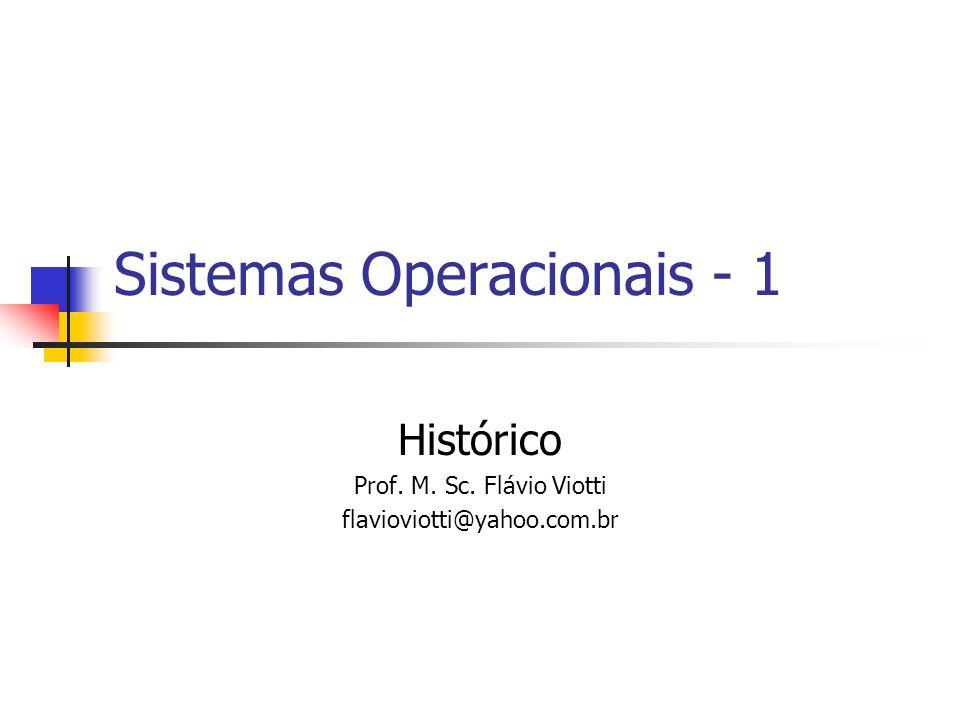 Sistemas Operacionais - 1