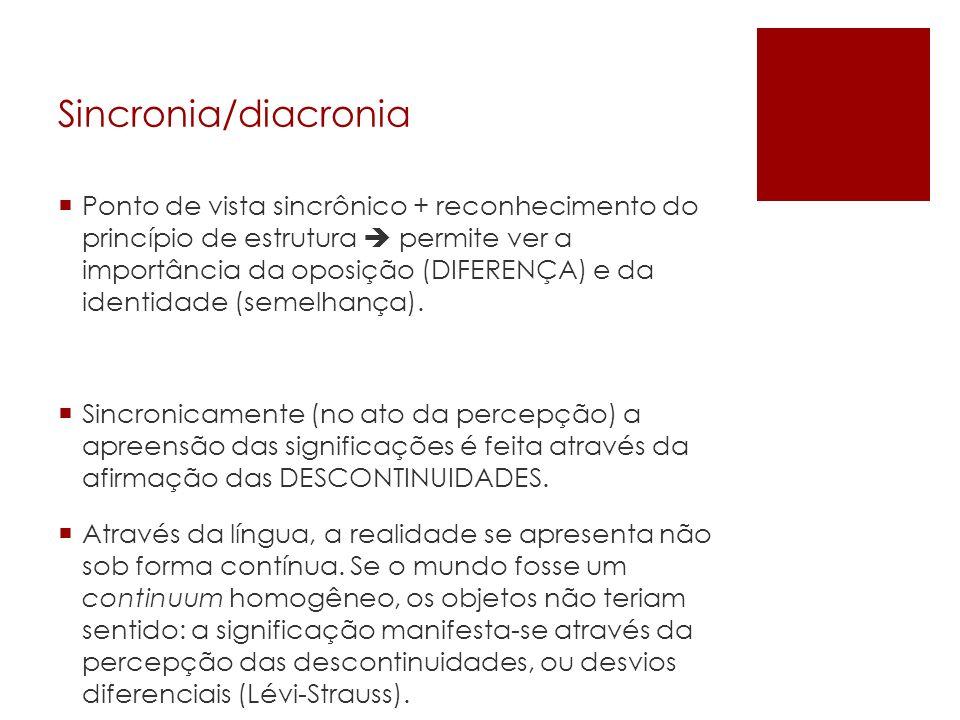 Sincronia/diacronia