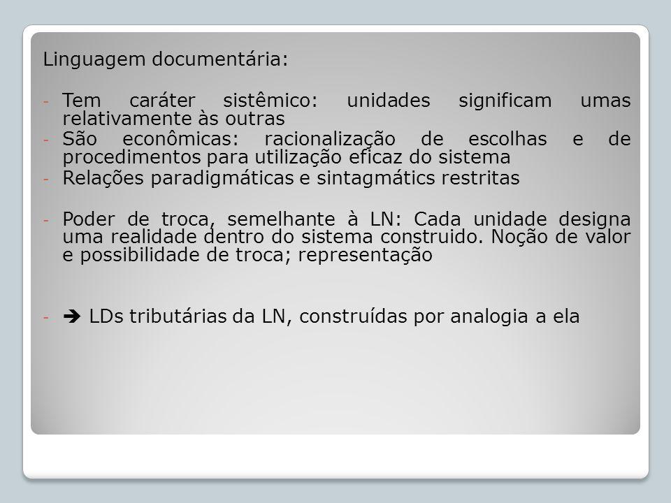 Linguagem documentária: