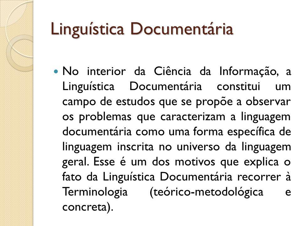 Linguística Documentária