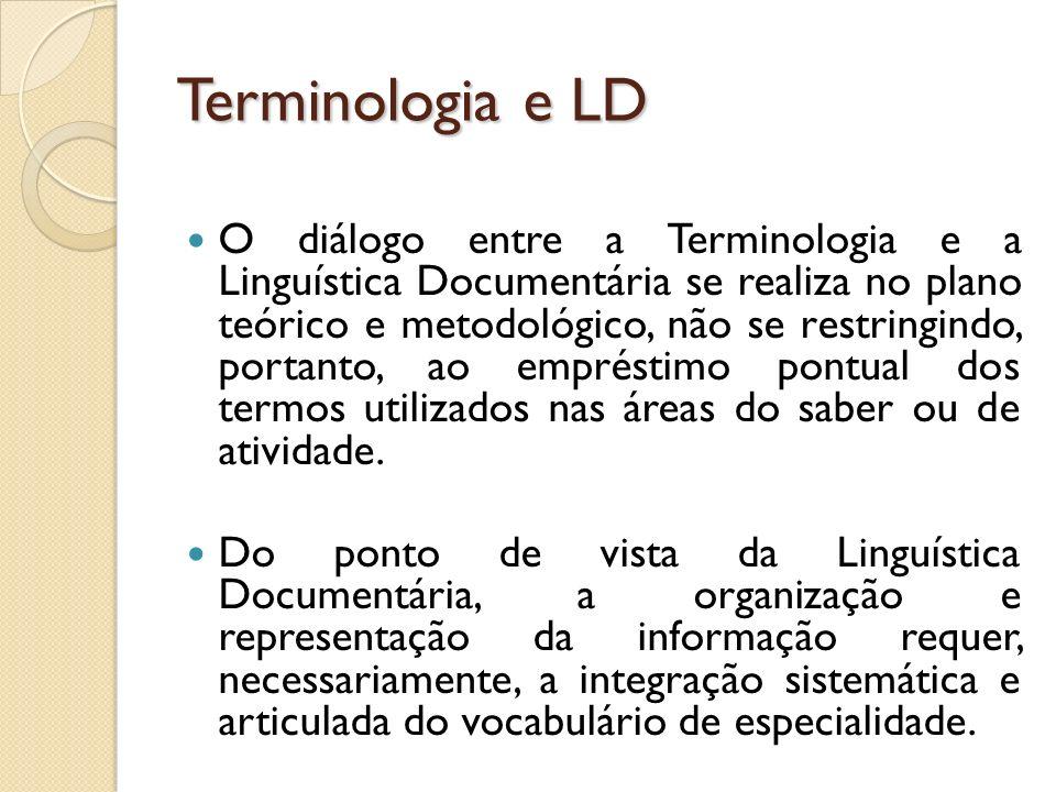 Terminologia e LD