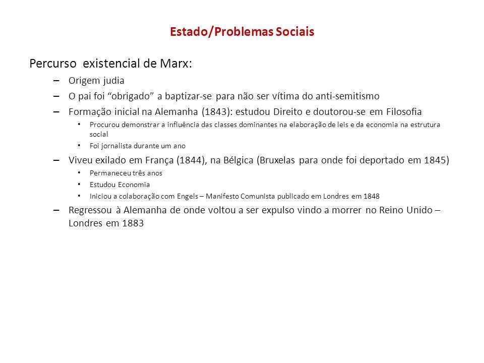 Estado/Problemas Sociais