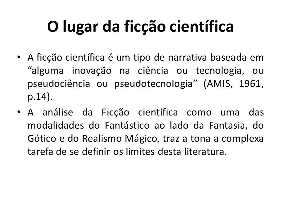O lugar da ficção científica