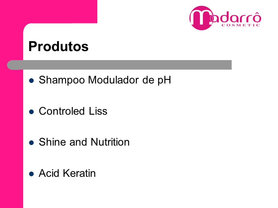 Produtos Shampoo Modulador de pH Controled Liss Shine and Nutrition