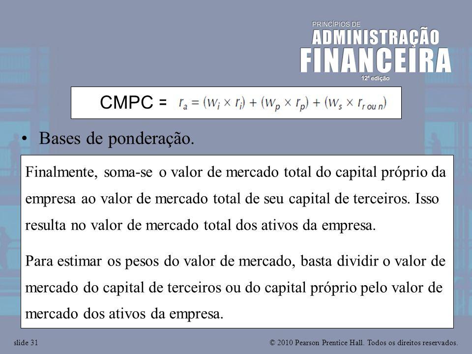 CMPC = ra = wiri + wprp + wsrr or n