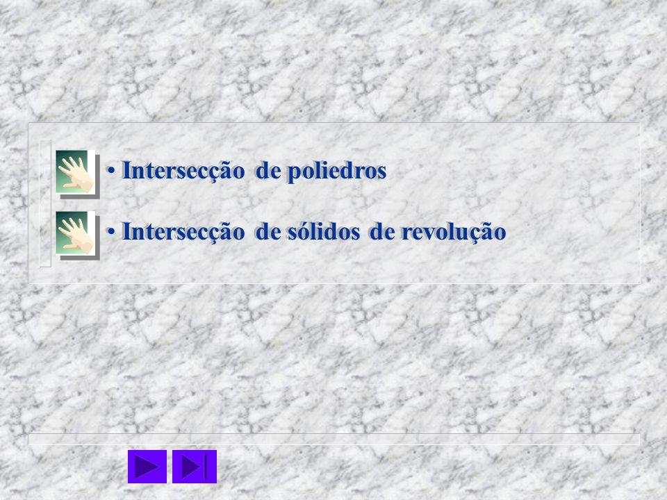 Intersecção de poliedros