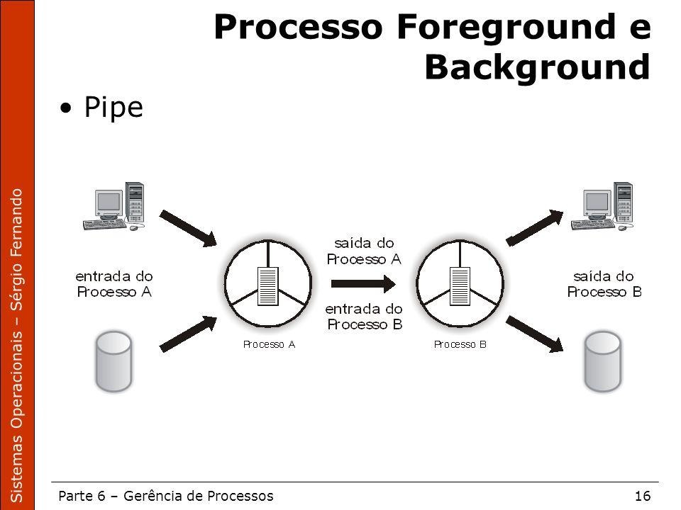 Processo Foreground e Background