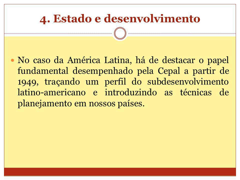 4. Estado e desenvolvimento