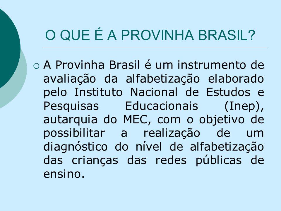 O QUE É A PROVINHA BRASIL