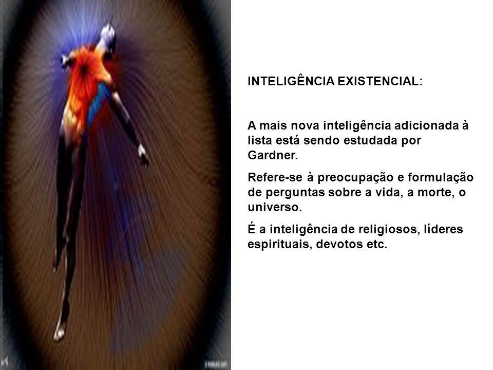 INTELIGÊNCIA EXISTENCIAL: