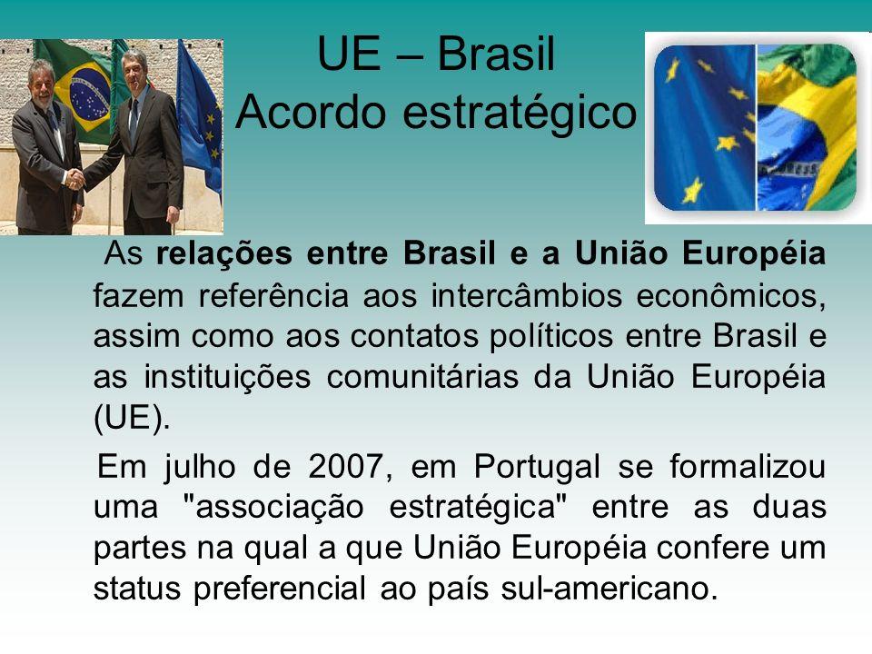 UE – Brasil Acordo estratégico