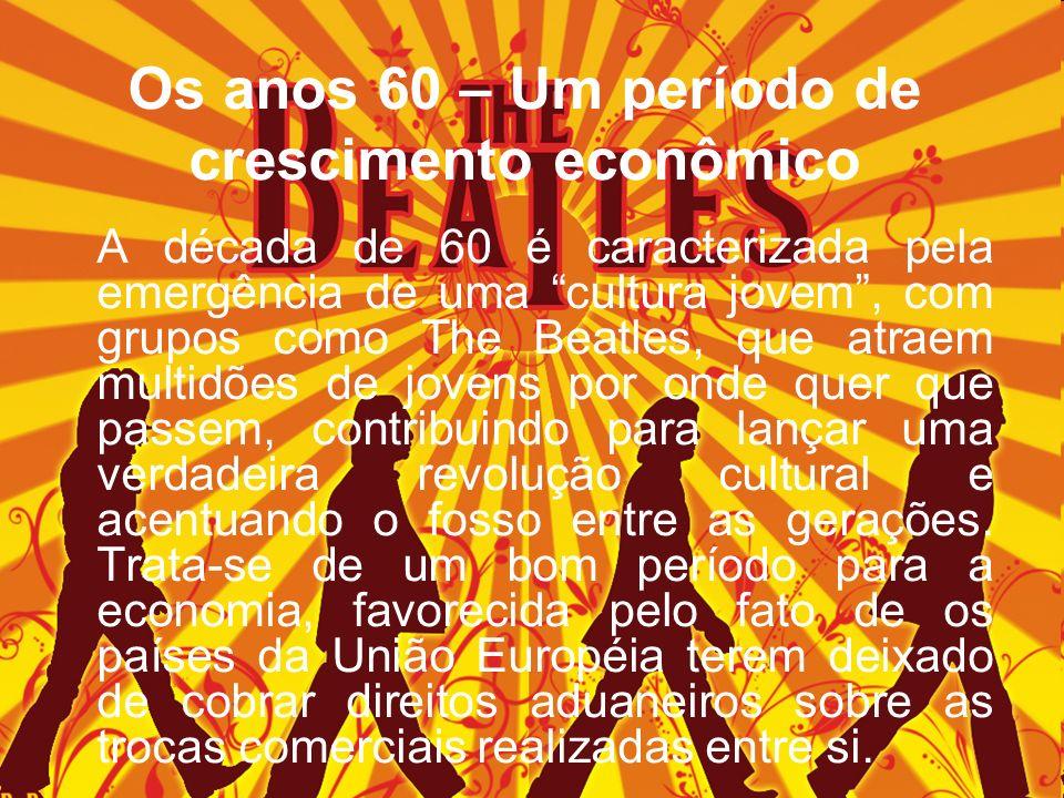 Os anos 60 – Um período de crescimento econômico