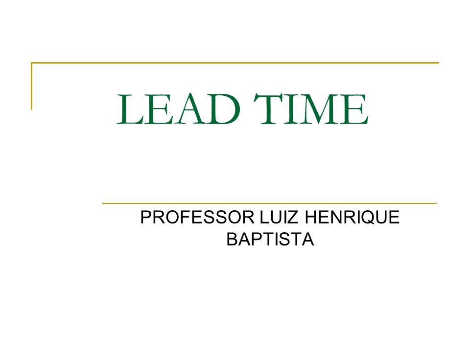 PROFESSOR LUIZ HENRIQUE BAPTISTA