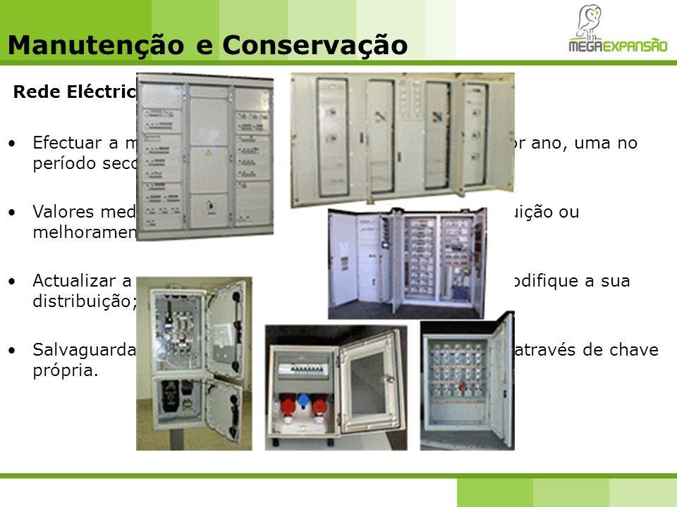 Manutenção e Conservação