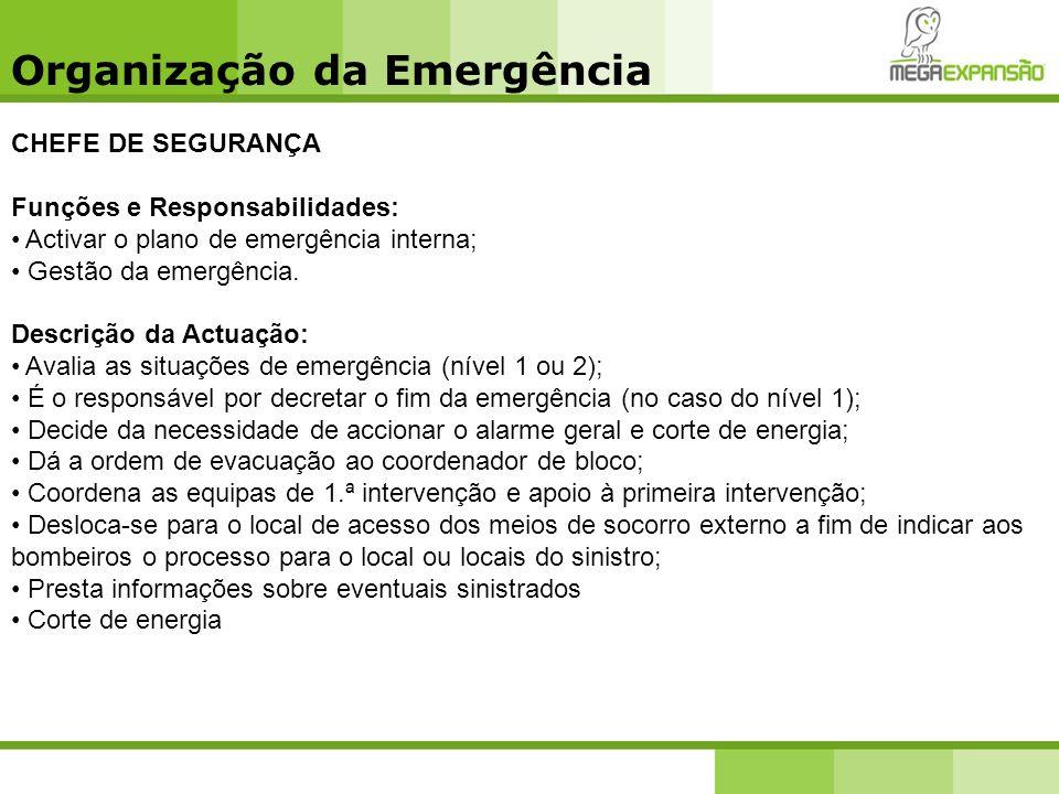 Organização da Emergência