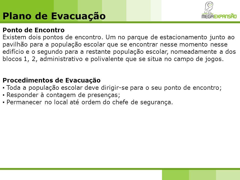 Plano de Evacuação Ponto de Encontro