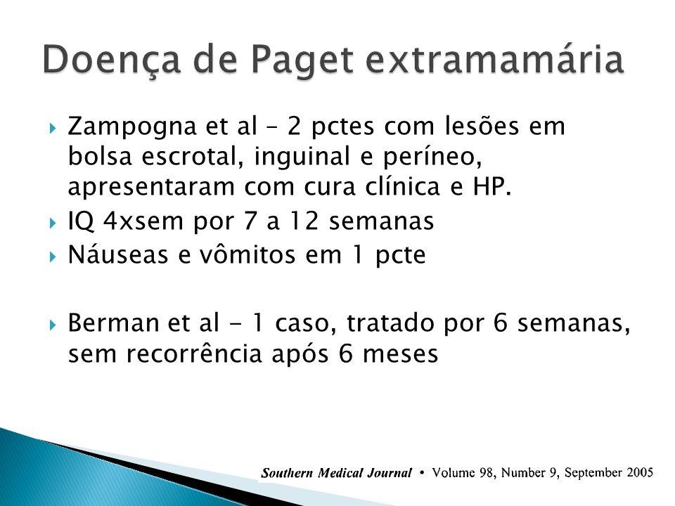 Doença de Paget extramamária
