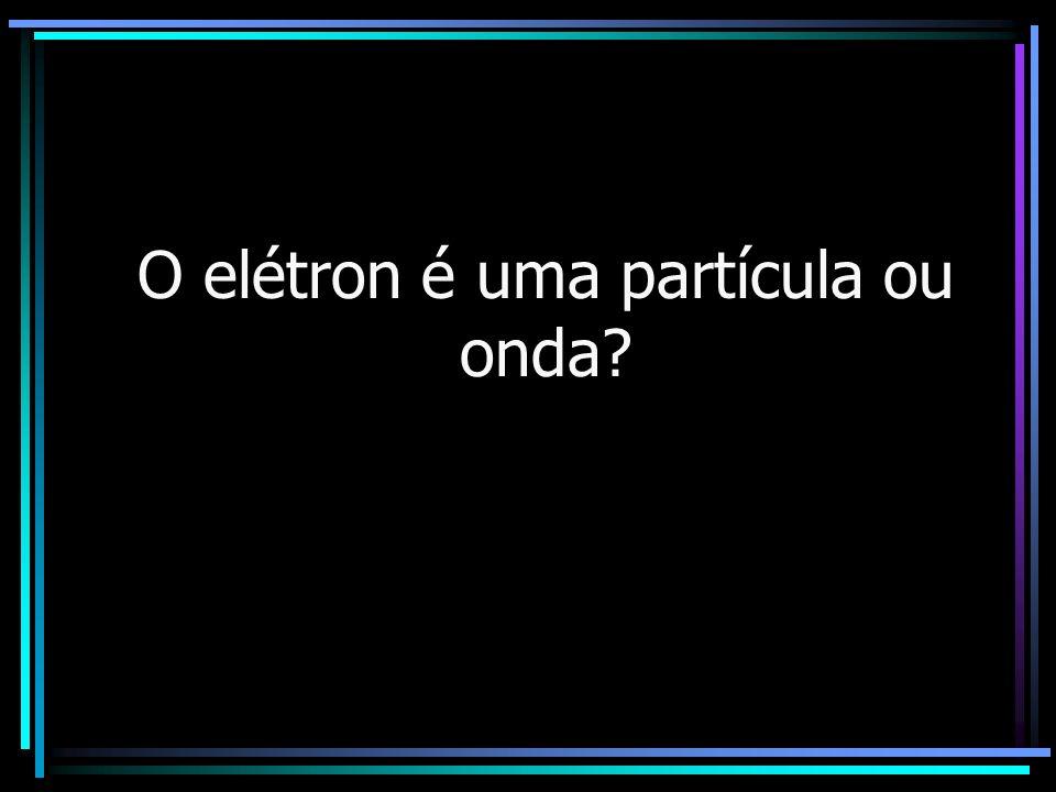 O elétron é uma partícula ou onda