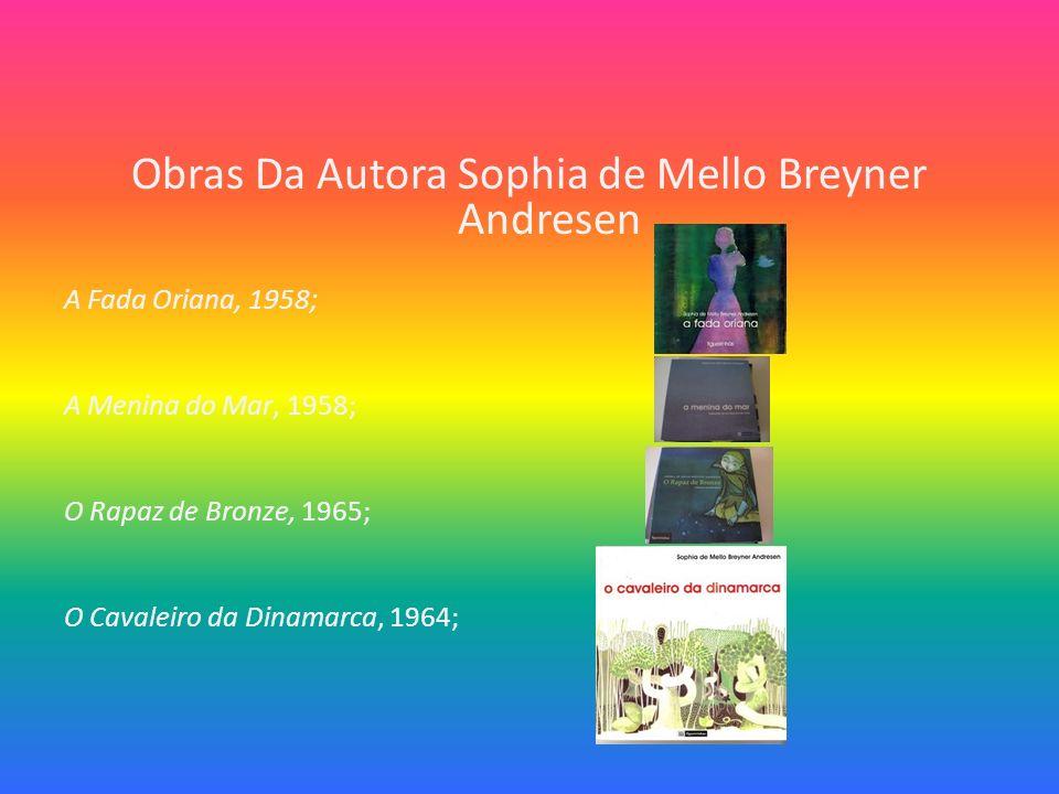 Obras Da Autora Sophia de Mello Breyner Andresen