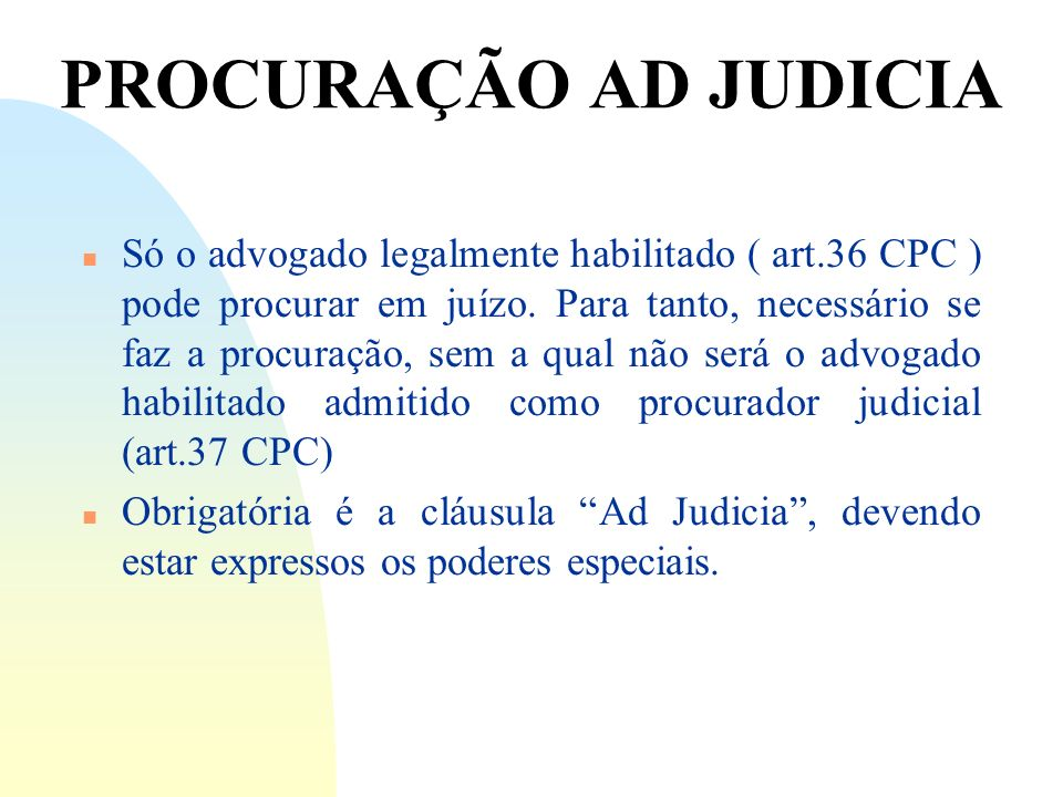 14/06/10 PROCURAÇÃO AD JUDICIA.
