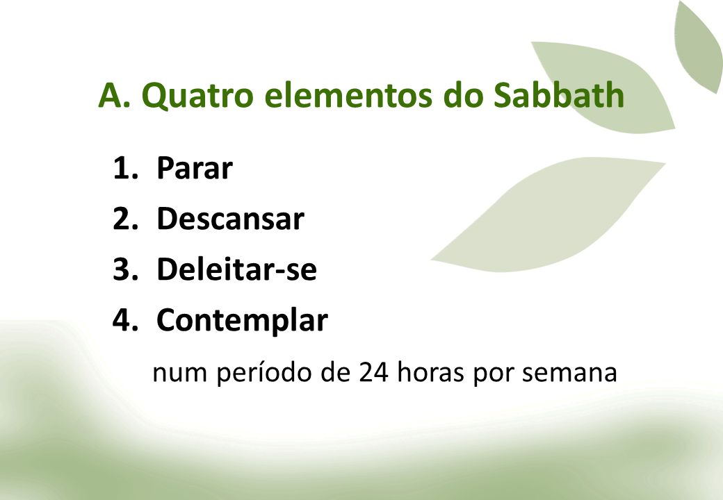 A. Quatro elementos do Sabbath