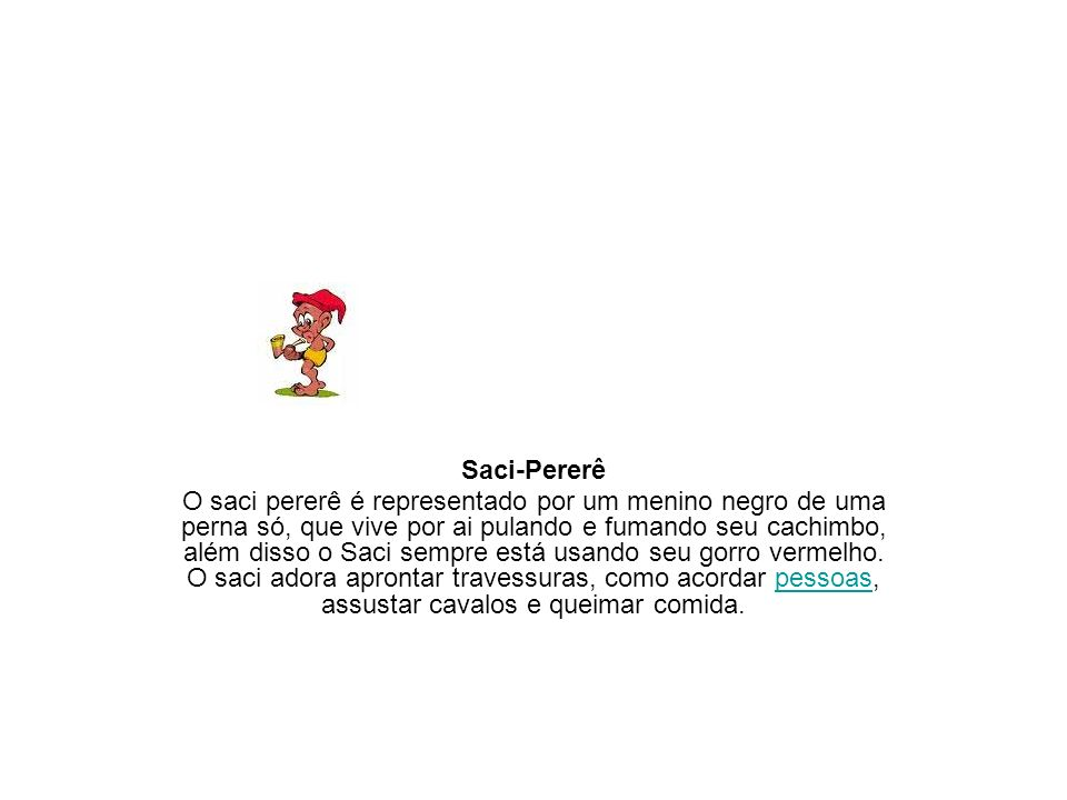 Saci-Pererê