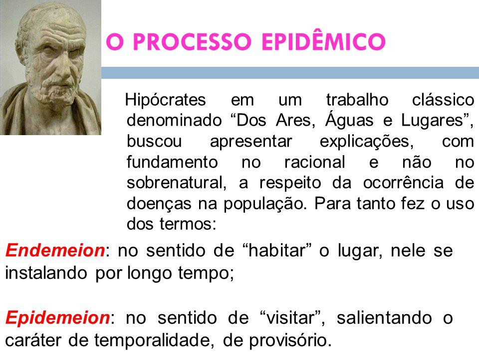 O PROCESSO EPIDÊMICO