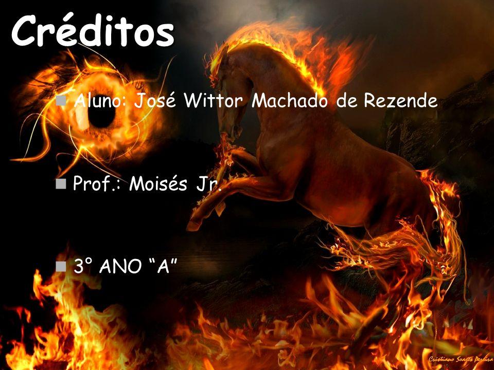 Créditos Aluno: José Wittor Machado de Rezende Prof.: Moisés Jr.