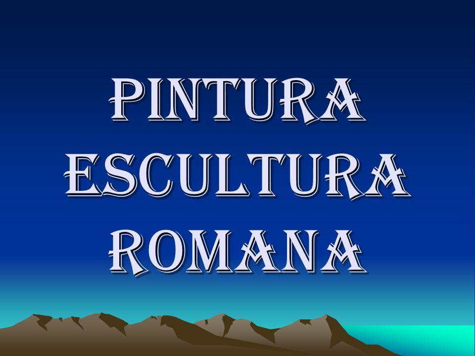 Pintura escultura romana