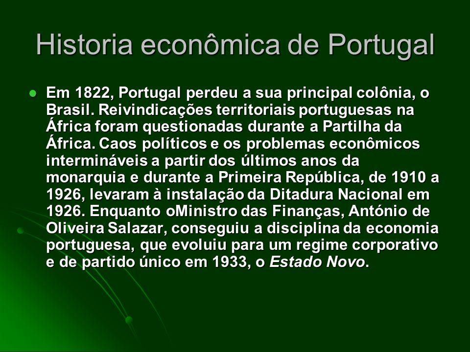 Historia econômica de Portugal