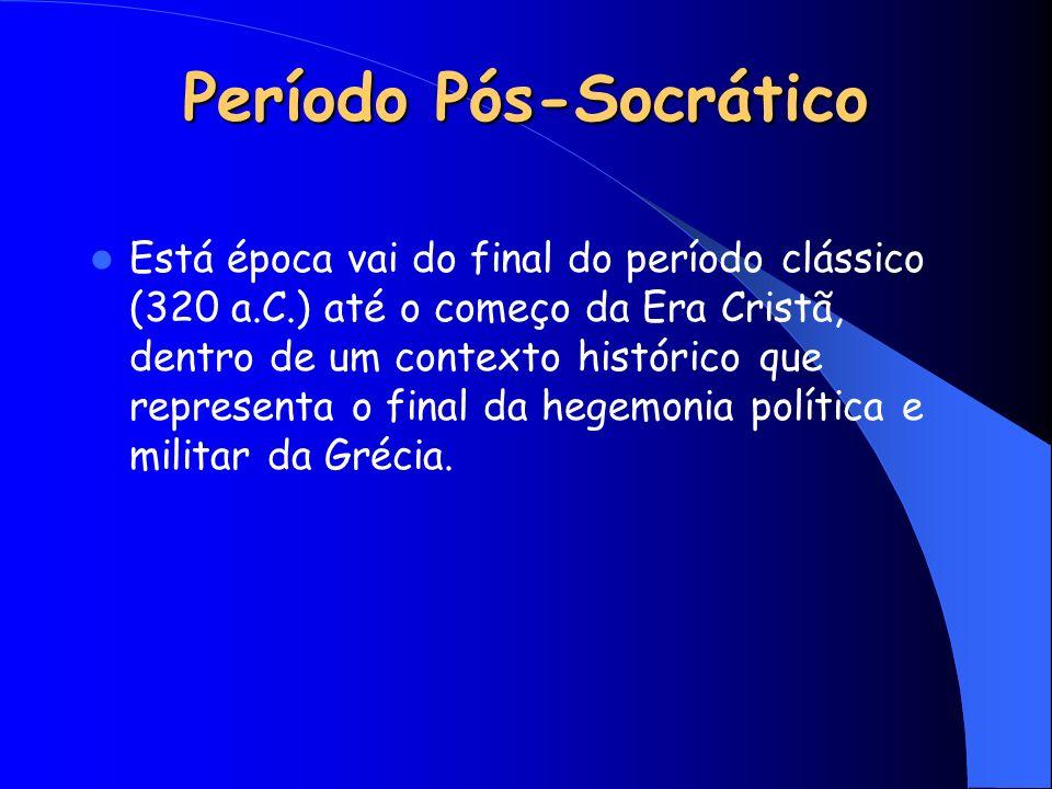 Período Pós-Socrático