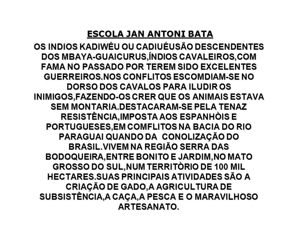 ESCOLA JAN ANTONI BATA