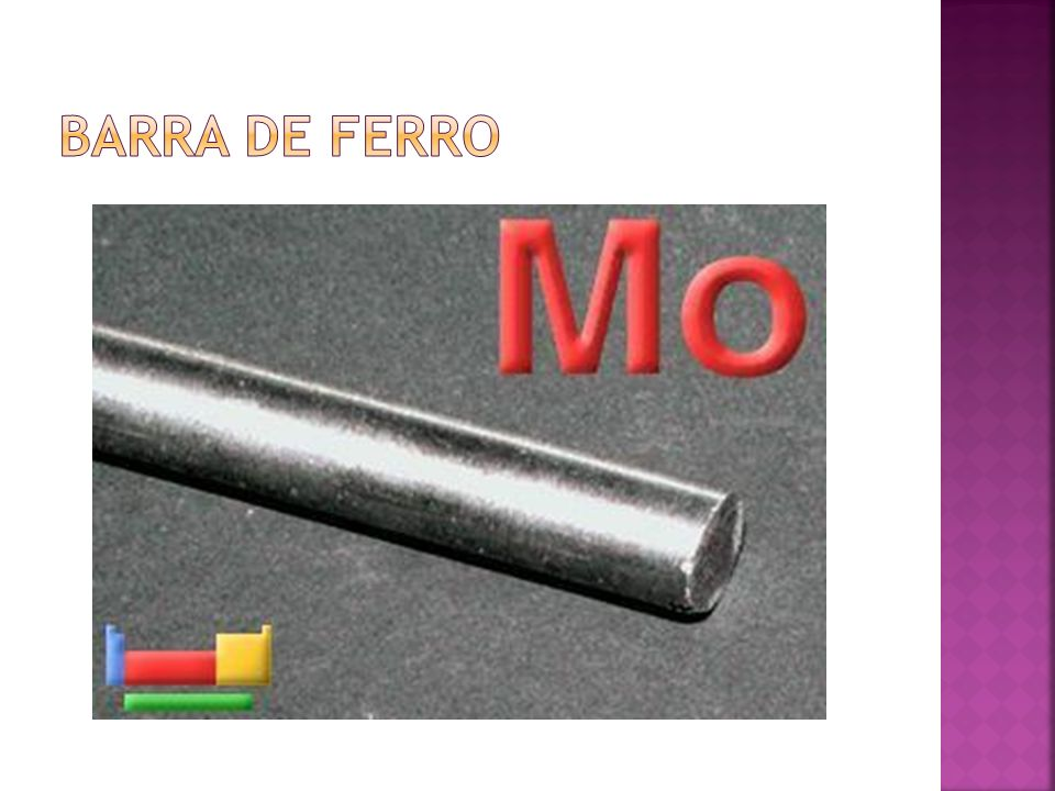 Barra de ferro