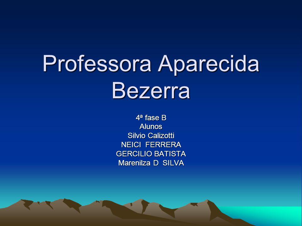 Professora Aparecida Bezerra