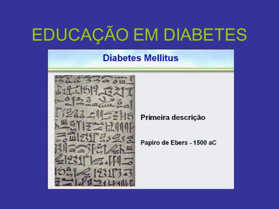 EDUCAÇÃO EM DIABETES