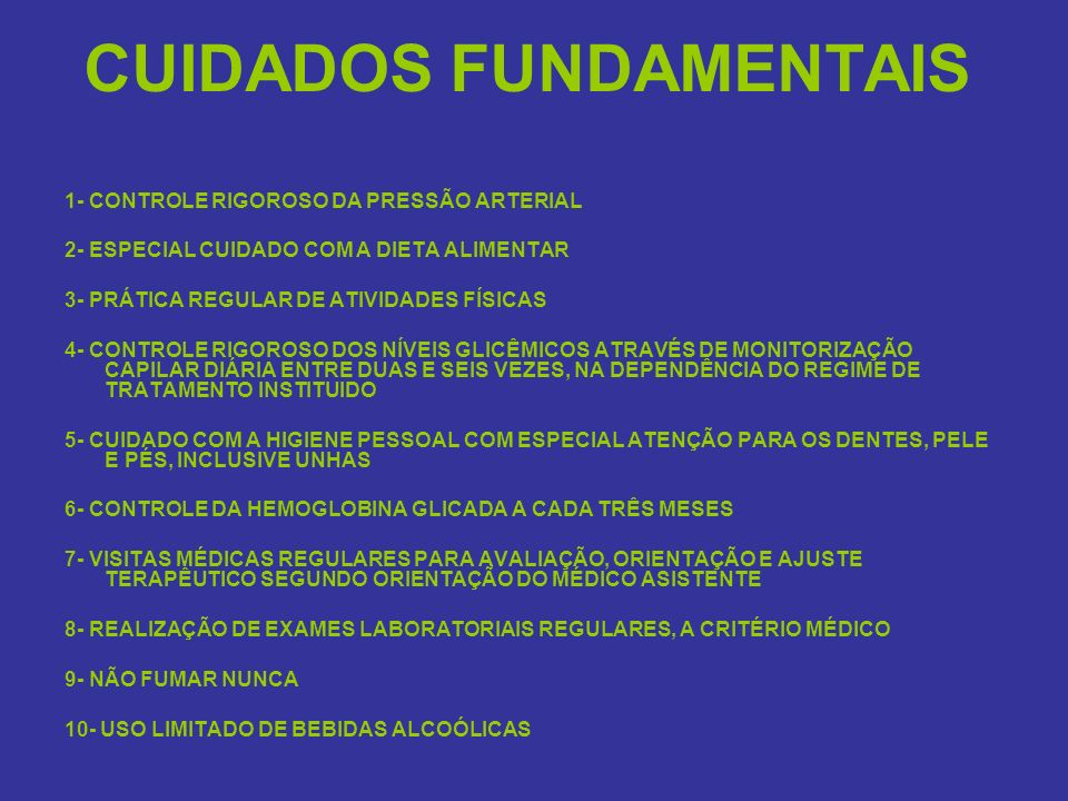 CUIDADOS FUNDAMENTAIS