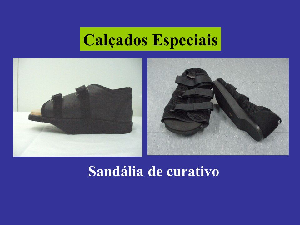 Calçados Especiais Sandália de curativo