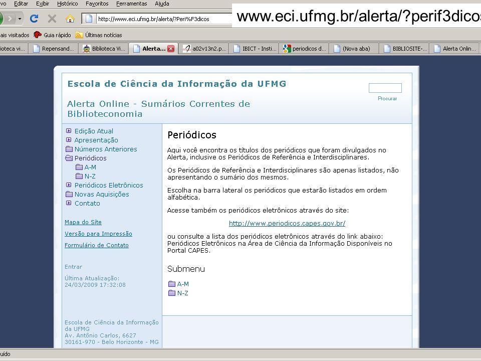 www.eci.ufmg.br/alerta/ perif3dicos