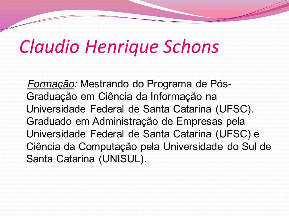 Claudio Henrique Schons