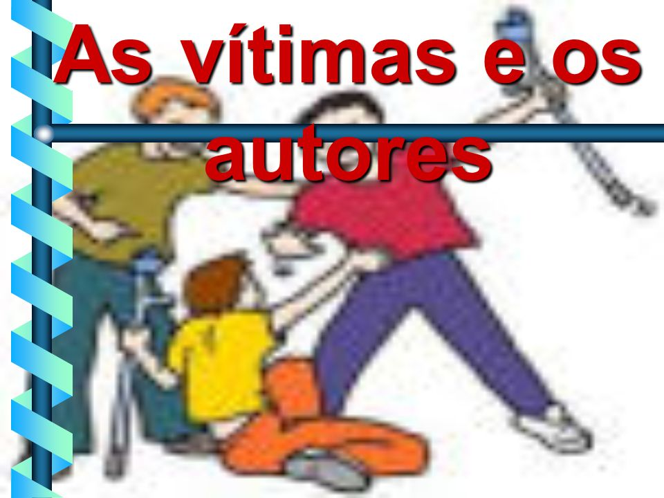 As vítimas e os autores