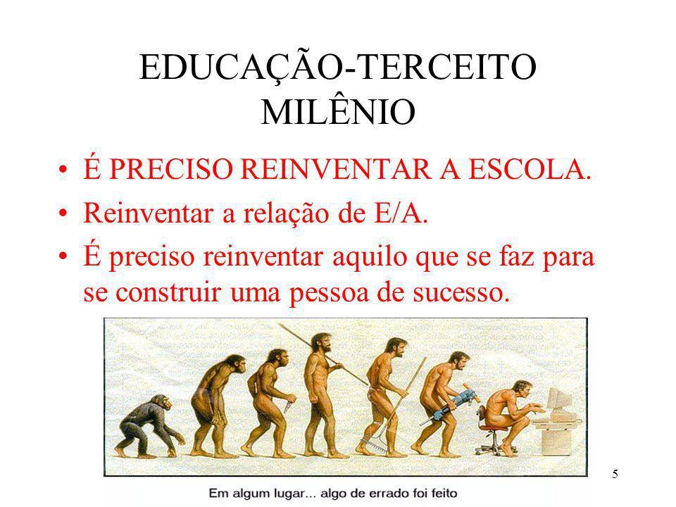 EDUCAÇÃO-TERCEITO MILÊNIO