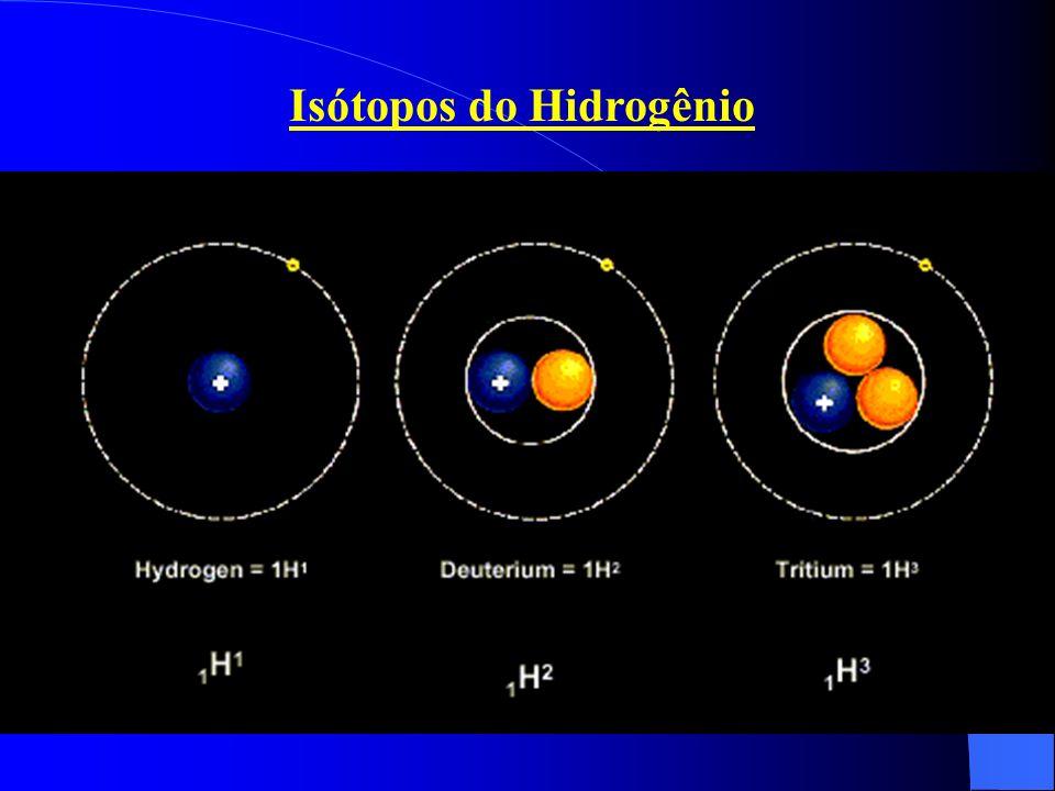 Isótopos do Hidrogênio