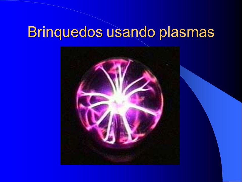 Brinquedos usando plasmas