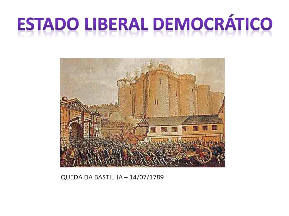 ESTADO LIBERAL DEMOCRÁTICO