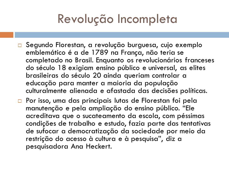 Revolução Incompleta