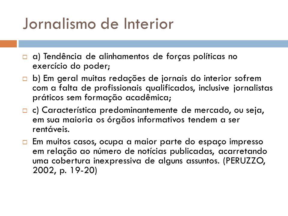 Jornalismo de Interior
