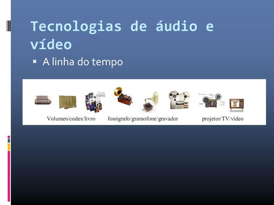 Tecnologias de áudio e vídeo