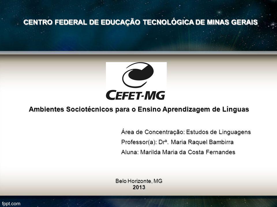 CENTRO FEDERAL DE EDUCAÇÃO TECNOLÓGICA DE MINAS GERAIS